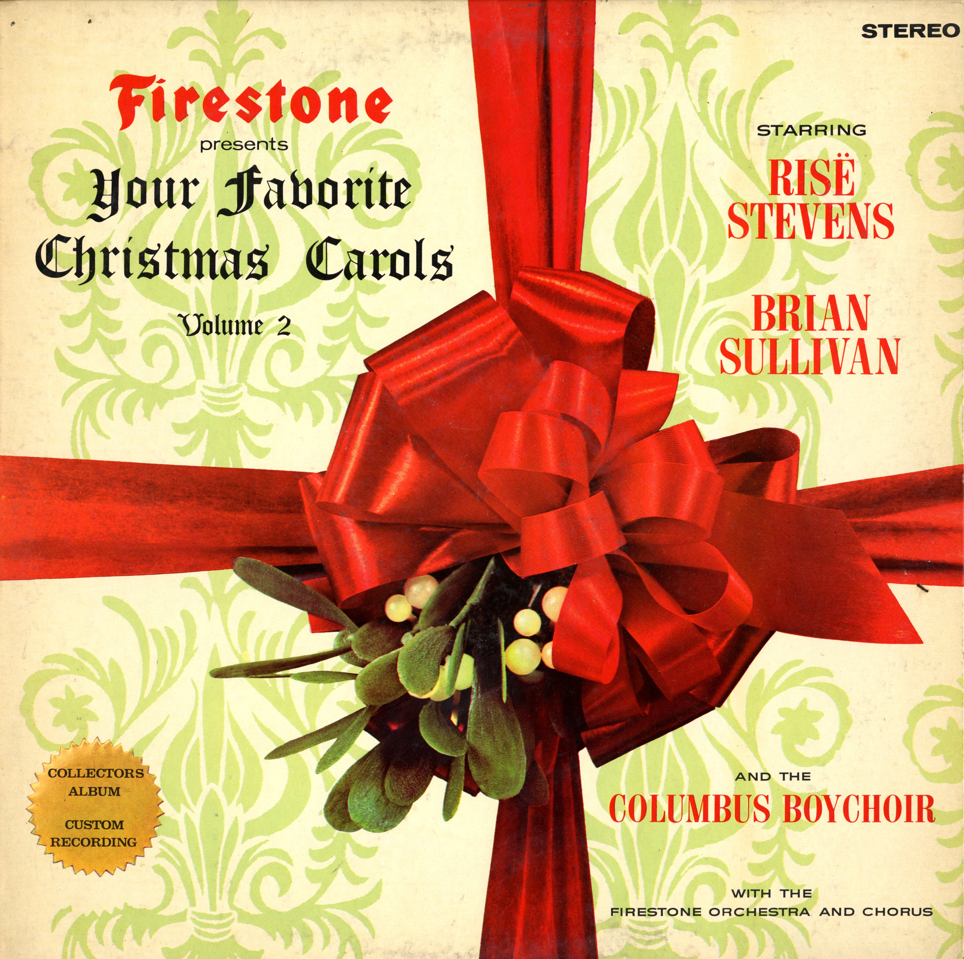 Lighted 8 Song Musical Holiday Christmas Carolers Choir: Firestone Your Favorite Christmas Music & Carol Carols